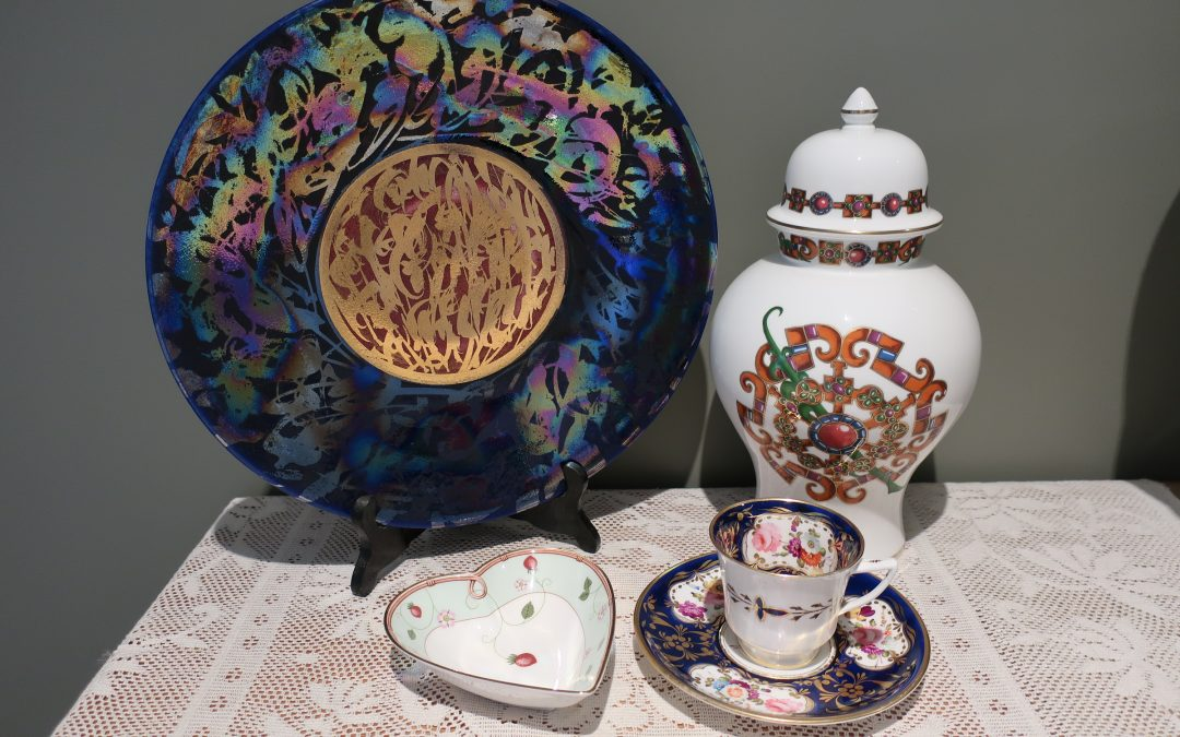 Sneak Peek For The Week – Antique Coalport, Greg Daly Pottery, Wedgwood Wild Strawberry, Portmeirion Temple Jar