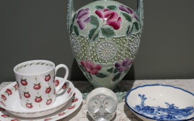 Sneak Peek For The Week – Antique Japanese, Mats Jonasson, Royal Doulton, Rodd Silver, Susie Cooper