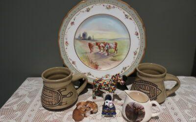 Sneak Peek For The Week – Beswick, Limoges, Australian Pottery, English Creamer, Mosaic Horse, Royal Doulton